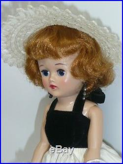 10 Vintage Jill Doll, All Original by Vogue, Dress Has a Mark on Back & On Slip