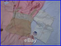 16pc Vintage Lingerie Most Full Dress Slips (13) Nice Lot Most Pink