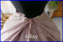1889 antique petticoat, antique sikrt, underskirt, antique dress, antique gown