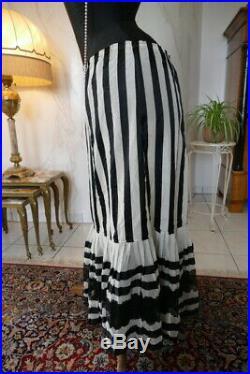 1904 antique petticoat, Altman & Co, underskirt, antique dress, antique gown