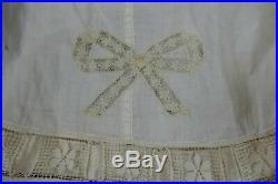 1904 antique petticoat, Edwardian petticoat, underskirt, antique dress, gown