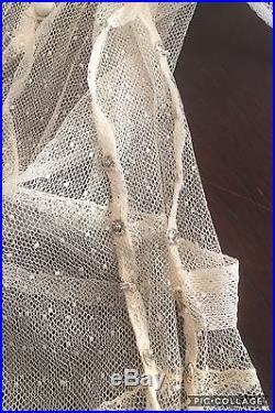 1930's True Vintage Antique Wedding Dress and Matching Slip Dress