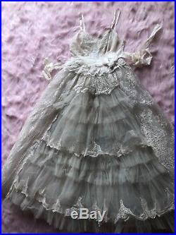 1950s Vintage Deconstructed Slip Prom Dress Boho Wedding Tea Lolita Dolls Kill