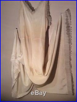 21 pc Lot 40s 50s 60s Women's Vintage Clothing/Dresses Slips Fur Collar Coat