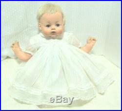 22 Madame Alexander Kitten doll crier new stuffing original tagged dress slip