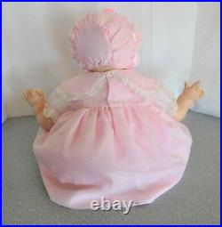 22 Madame Alexander Kitten doll crier new stuffing pink dress slip