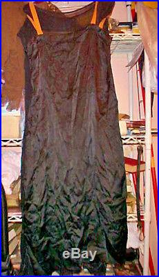 3 Piece 1920's Flapper Dress / Outfit Slip Dress & Middy So The Note With Says