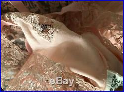 30s 50s Art Deco top victorian underwear dress lace S 8 10 vintage retro PIN UP