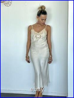 40s Silk Nightgown 40s Nightgown 1940s Silk Nightgown 40s Dress