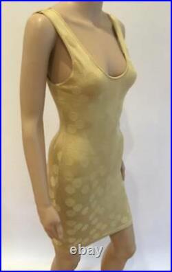 ALAIA VINTAGE SEXY 1990s OPEN BACK DRESS SIZE S