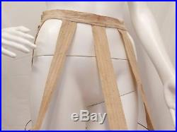 ANTIQUE 1870's-1880's WIRE DRESS CAGE BUSTLE HOOP SKIRT PETTICOAT VICTORIAN