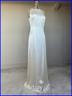 Agent Provocateur Lizzie Ivory Silk Slip Dress Bridal Wedding Gown Vtg Rare BNWT