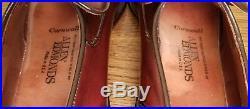 Allen Edmonds Cornwall Loafers Brown Slip On Dress Shoes Men's Size 7 C USA Vtg