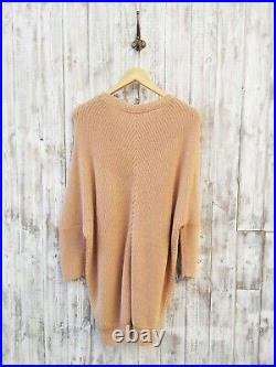 American Vintage Lubbork Sweater Dress In Nude M / L Was Selling At Yoox