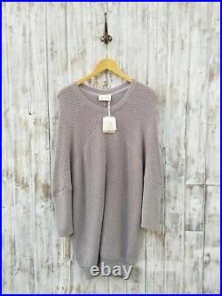 American Vintage Lubbork Sweater Dress In Silver M / L Was Selling At Yoox