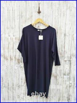 American Vintage Robe Midi Dress In Navy M Was Selling At Yoox