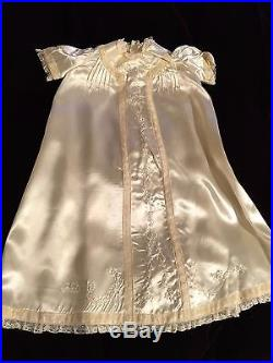 Antique Child's Christening Outfit Hat, Coat, Dress Slip Excellent Condition