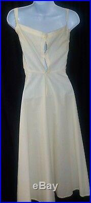 Antique Edwardian Cotton Gauze Mixed Lace Tea Garden Dress withSlip Amazing Intric