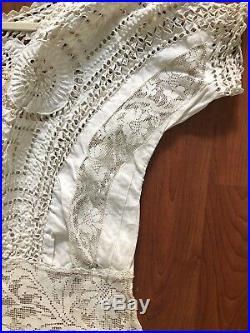 Antique True Victorian Dress Slip EUC Wearable- Day Wedding Evening Boho