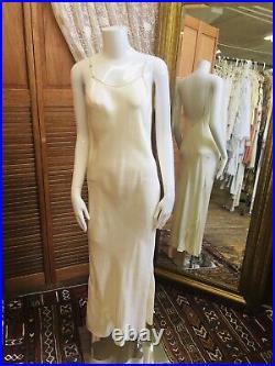 Art Deco Chiffon Dress Jacket And Silk Slip 3Pc Set 1920s Dress