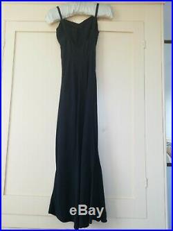 Art Deco Original Vintage 1930s Silk Slip /Dress