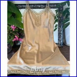 Authentic Celine Vintage Slip Camisole Dress Nightwear Size M New Deadstock