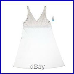 Authentic Chritian Dior Trotter Monogram Slip Dress Night Gown Lingerie Vintage