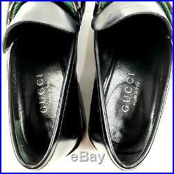 Authentic Gucci Vintage Men's Horse Bit Slip On Leather Dress Shoes Size 7.5 M