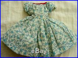 Beautiful Vintage Fashion Doll Dress Attached Slip Cissy Miss Revelon