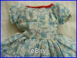 Beautiful Vintage Fashion Doll Dress Attached Slip Cissy Miss Revlon