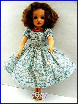 Beautiful! Vintage Fashion Doll Dress Attached Slip Cissy Miss Revlon