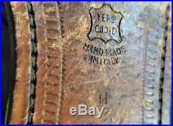 Caporicci Loafers Black Mens Leather Tassels Slip On Dress VTG Size 11M EU 44