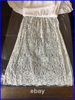 Chanel Vintage Authentic Never Worn white Dress Size 38 French