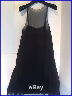 Chanel Vintage Mini Black Dress, with matching slip size 38 (slip 100% silk)