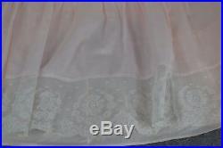 Chemise full length slip camisole long dress Victorian antique original 1890