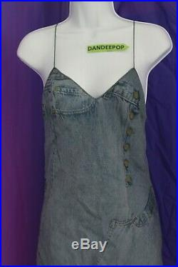 Christian Dior Original Design Silk Slip Dress With 2 Shawl Scarves Size 10