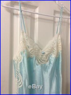 Christian dior Blue Mint Slip Dress Sz S