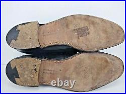 Churchs Men's Custom Grade Black Slip on Loafer Dress Shoes Sz 9.5 UK 10.5 US