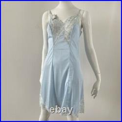 Dior Dress Vintage Christian Dior Light Blue Slip Dress