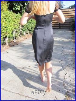 Dolce & Gabbana Vintage Nighty / Slip Dress, Size 6, Medium, Excellent Condition
