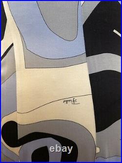 EMILIO PUCCI VINTAGE 90s SEXY ICONIC PRINT DRESS SIZE US 4