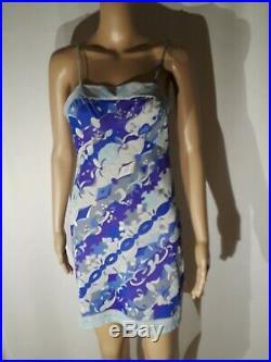 Emilio Pucci FormFit Rogers Slip Dress Vintage Size S