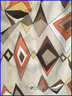 Emilio Pucci Formfit Rogers Vintage Slip Dress