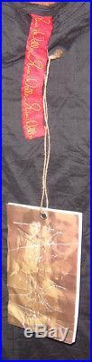 Ewa I Walla 100% Cotton Vintage Black Slip Dresssz Smallnwt