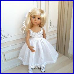 Exclusive outfit for doll Dianna Effner Little Darling. DRESS + Slip