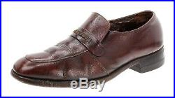 FLORSHEIM Shoes 8.5 D Mens Imperial PENNY LOAFERS Cordovan Slip On USA Vintage