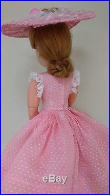 For Vintage 20 Cissy Pink 5 pc Dress/Slip Ensemble DollDreams By Natalie