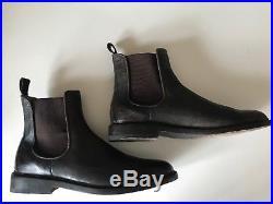 Frye Mens James Chelsea Slip On Dress Boots Vintage Brown 12 $398