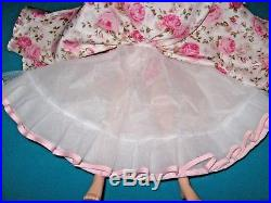 GORGEOUS DRESS, WRAP, SLIP, PANTY for Vintage 20 Madame Alexander CISSY (No DOLL)