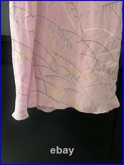 Georgina von Etzdorf 100% Silk Slip Dress Vintage